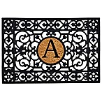 "Home & More Monogram Letter ""A"" 24-Inch x 36-Inch Door Mat"