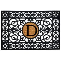 "Home & More Monogram Letter ""D"" 24-Inch x 36-Inch Door Mat"
