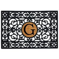 "Home & More Monogram Letter ""G"" 24-Inch x 36-Inch Door Mat"