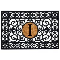 """Home & More Monogram Letter """"I"""" 24-Inch x 36-Inch Door Mat"""