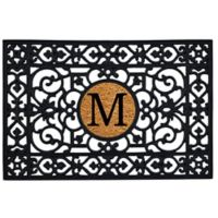 "Home & More Monogram Letter ""M"" 24-Inch x 36-Inch Door Mat"
