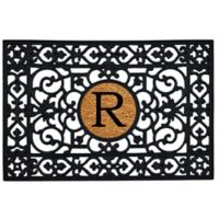 "Home & More Monogram Letter ""R"" 24-Inch x 36-Inch Door Mat"