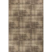 KAS Tahoe Twill 9-Foot 10-Inch Round Area Rug in Natural