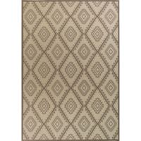 KAS Tahoe Bungalow 3-Foot 3-Inch x 4-Foot 11-Inch Accent Rug in Ivory