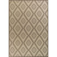 KAS Tahoe Bungalow 9-Foot 10-Inch x 13-Foot 2-Inch Area Rug in Ivory