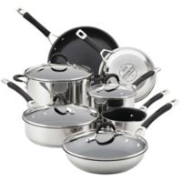 Circulon® Momentum™ Stainless Steel Nonstick 11-Piece Cookware Set