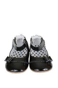 Robeez® Size 5 Mini Shoez Catherine Shoe in Black