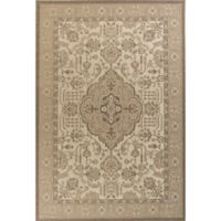 KAS Tahoe Morrocco 3-Foot 3-Inch x 4-Foot 11-Inch Accent Rug in Ivory/Beige