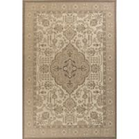 KAS Tahoe Morrocco 5-Foot 3-Inch x 7-Foot 7-Inch Area Rug in Ivory/Beige