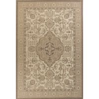 KAS Tahoe Morrocco 7-Foot 10-Inch x 10-Foot 10-Inch Area Rug in Ivory/Beige