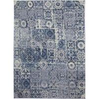 Ren-Wil Cosmopolitan Mosaic 7-Foot 9-Inch x 9-Foot 8-Inch Area Rug in Ivory/Grey