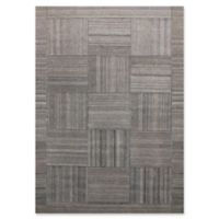 Ren-Wil Patchwork 5-Foot 2-Inch x 7-Foot 6-Inch Area Rug in Grey/Silver