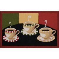 Nourison Everywhere 20-Inch x 33-Inch Coffees Kitchen Mat
