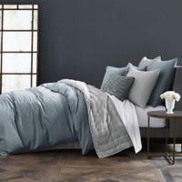 Wamsutta® Vintage Cotton Cashmere Full/Queen Duvet Cover in Dusty Blue