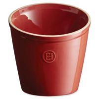 Emile Henry 5.5-Inch Utensil Pot in Burgundy