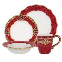 Fitz and Floyd® Renaissance Holiday 4-Piece Place Setting