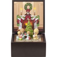 Precious Moments® Family Christmas Deluxe Light Up Music Box