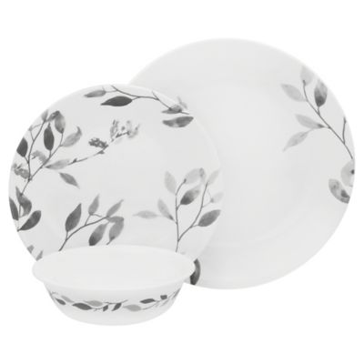 Corelle® Misty Leaves 12-Piece Dinnerware Set  sc 1 st  Bed Bath u0026 Beyond & Buy Nature Dinnerware from Bed Bath u0026 Beyond