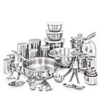 "Old Dutch International 36-Piece Stainless Steel ""Kitchen-In-A-Box"" Cookware Set"