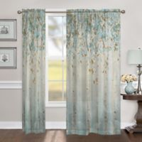 Laural Home Dream Forest 84-Inch Sheer Rod Pocket Window Curtain Panel