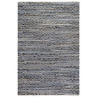 Fab Habitat Myrtle 8-Foot x 10-Foot Area Rug in Denim/Natural