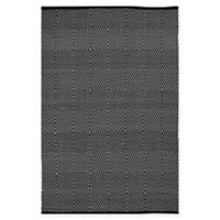 Fab Habitat Zen Collection 10-Foot x 14-Foot Area Rug in Black/White