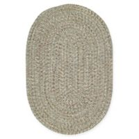 Capel Rugs Sea Pottery 9-Foot 2-Inch x 13-Foot 2-Inch Oval Indoor/Outdoor Rug in Caribbean