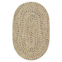 Capel Rugs Sea Pottery 9-Foot 2-Inch x 13-Foot 2-Inch Oval Indoor/Outdoor Rug in Sand