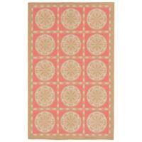 Lionra Mane Tile Summer 4-Foot 10-Inch x 7-Foot 6-Inch Area Rug