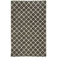 Capel Rugs Cococozy Picket Handknotted 9-Foot x 13-Foot Area Rug in Light Charcoal