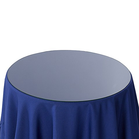 Round Glass Table Topper