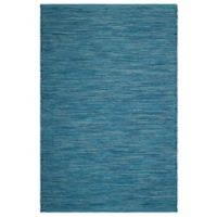 Fab Habitat Cancun Blue 4-Foot x 6-Foot Indoor/Outdoor Area Rug