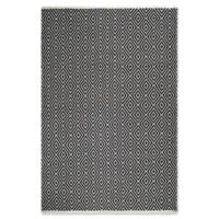 Fab Habitat Veria 5-Foot x 8-Foot Indoor/Outdoor Area Rug in Black/White
