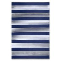 Fab Habitat Mariona 6-Foot x 9-Foot Indoor/Outdoor Area Rug in Blue/White