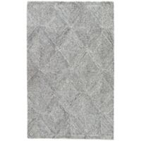 Jaipur Exhibition 2-Foot x 3-Foot Accent Rug in White/Grey