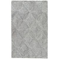 Jaipur Exhibition 8-Foot x 11-Foot Area Rug in White/Grey