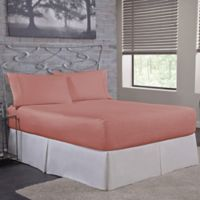 Bed Tite™ 300-Thread-Count Cotton Full Sheet Set in Mauve