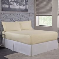 Bed Tite™ 300-Thread-Count Cotton Twin Sheet Set in Ivory