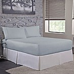 Bed Tite™ 300-Thread-Count Cotton Queen Sheet Set in Light Blue
