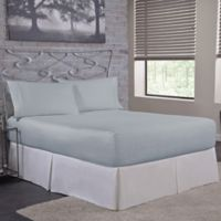 Bed Tite™ 300-Thread-Count Cotton Twin Sheet Set in Light Blue