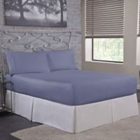 Bed Tite™ 300-Thread-Count Cotton Full Sheet Set in Lake Blue