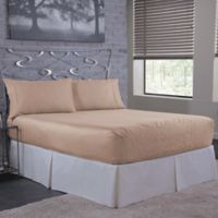 Bed E Solid 500 Thread Count Cotton King Sheet Set In Peach