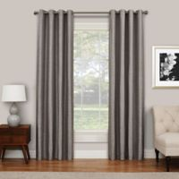 SolarShield® Abingdon 84-Inch Grommet Top Room Darkening Window Curtain Panel in Grey