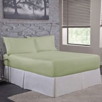 Bed Tite™ Solid 500-Thread-Count Cotton King Sheet Set in Sage