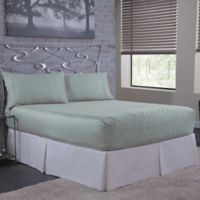 Bed Tite™ Solid 500-Thread-Count Cotton Full Sheet Set in Pale Blue