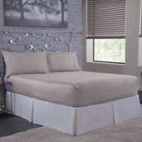 Bed Tite™ Solid 500-Thread-Count Cotton Queen Sheet Set in Silver