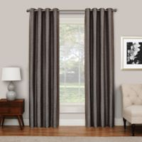 SolarShield® Abingdon 84-Inch Grommet Top Room Darkening Window Curtain Panel in Chocolate