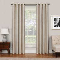 SolarShield® Abingdon 95-Inch Grommet Top Room Darkening Window Curtain Panel in Ivory