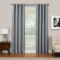 SolarShield® Abingdon 84-Inch Grommet Top Room Darkening Window Curtain Panel in Spa