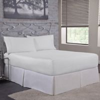 Bed Tite™ Solid 500-Thread-Count Cotton Queen Sheet Set in White